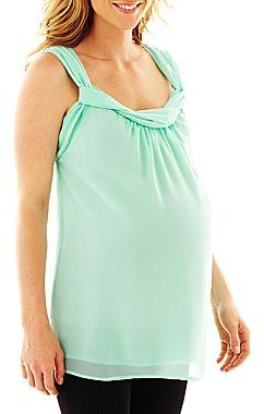 JCPenney Maternity Empire Tank Top