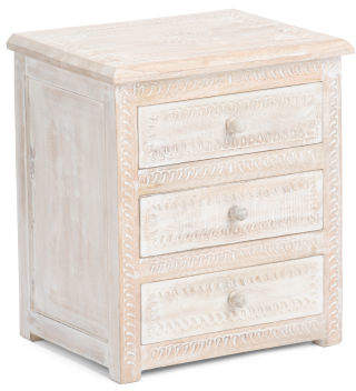 Made In India Wood Chest Drawer