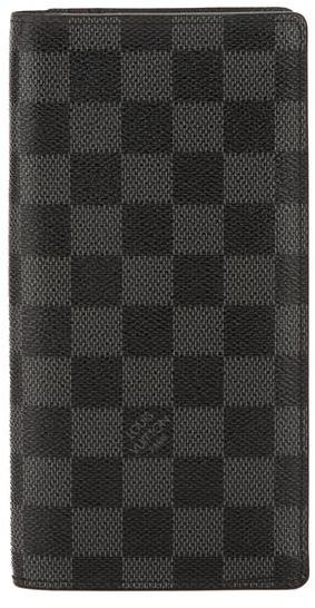 Louis VuittonLouis Vuitton Damier Graphite Canvas Brazza Wallet (Pre Owned)