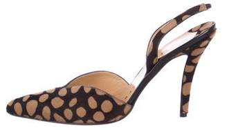 Walter Steiger Patterned Slingback Pumps