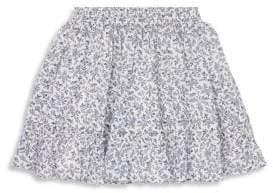 Ralph Lauren Little Girl's Floral Cotton Skirt