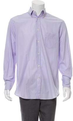 Brunello Cucinelli Striped Button-Up Shirt