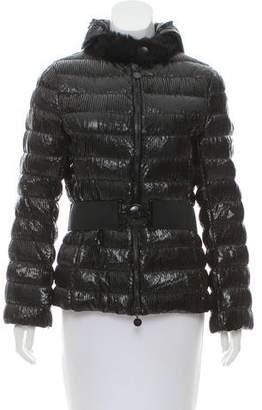 Moncler Morzine Shirred Jacket