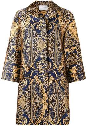 Mary Katrantzou Spence jacquard oversized jacket