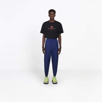 Balenciaga Nylon straight tracksuit pants