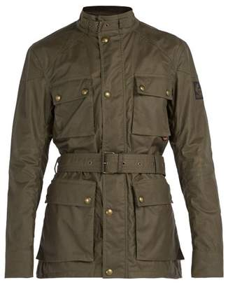 Belstaff Roadmaster Waxed Cotton Jacket - Mens - Khaki