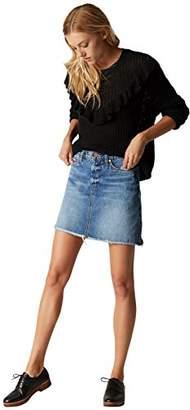 Blank NYC [BLANKNYC] Women's Denim Mini Skirt