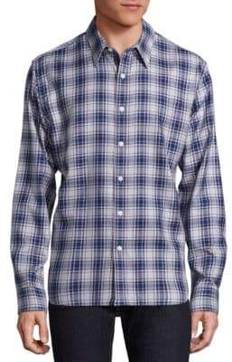 73rd & Park Plaid Button-Down Shirt