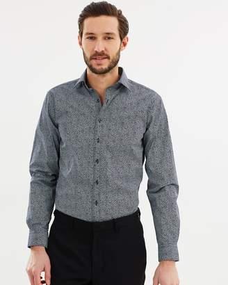 Van Heusen Euro Fit Floral Print Shirt