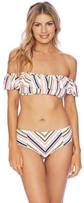 Splendid SplendidHome Women's Line up Midrise Swimsuit Bikini Bottom