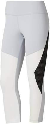 Reebok Women's OS Lux Colorblock Capri Leggings