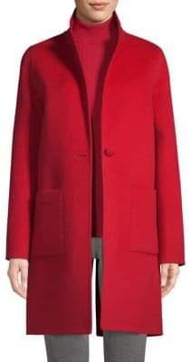St. John Wool& Angora Blend Coat