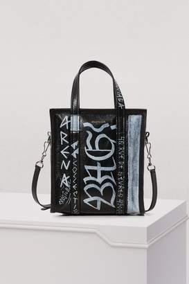 Balenciaga XS Graffiti Bazar tote bag