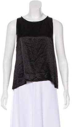Giada Forte Sleeveless Satin Top w/ Tags