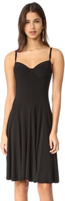 Norma Kamali Kamali Kulture Underwire Dress $220 thestylecure.com