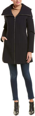 Dawn Levy Gwena Quilted Long Coat