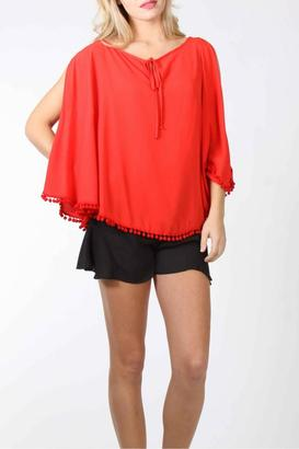 Vava by Joy Hahn Dorothy Poncho Top Dorothy Poncho Top $70 thestylecure.com