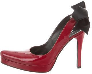 Casadei Patent Leather Pumps $95 thestylecure.com