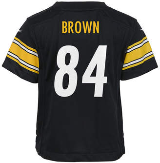 Nike Babies' Antonio Brown Pittsburgh Steelers Game Jersey $45 thestylecure.com
