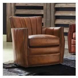 Hooker Furniture Carson Swivel Club Chair