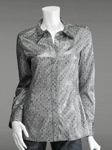 Richard Chai Print Fitted Shirt