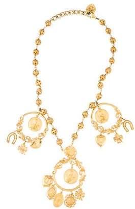 Dolce & Gabbana Good Luck Coin Necklace