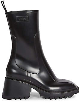 Chloé Women's Betty PVC Rain Boots
