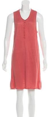 360 Cashmere Linen Mini Dress