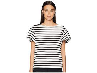 Kate Spade Stripe Drop Shoulder Tee