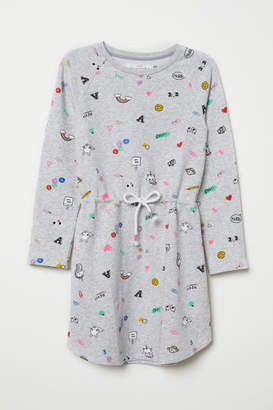 H&M Sweatshirt Dress - Gray