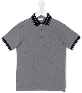 Dolce & Gabbana contrast collar polo shirt