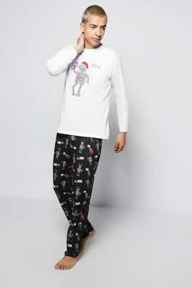 boohoo Robot Christmas Pyjamas