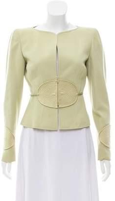 Valentino Wool Structured Jacket
