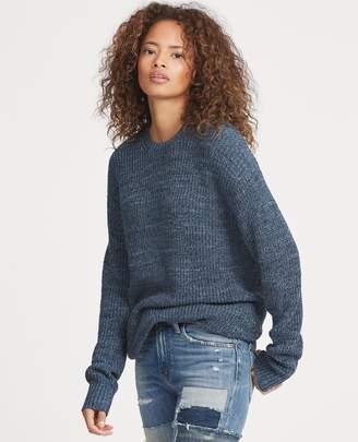 Ralph Lauren Cotton-Linen Crewneck Sweater