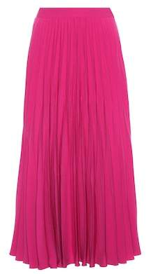 Co Crêpe pleated skirt