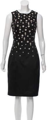 Jason Wu Embellished Sleeveless Midi Dress