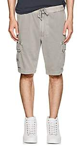 James Perse Men's Cotton Cargo Shorts - Light Gray