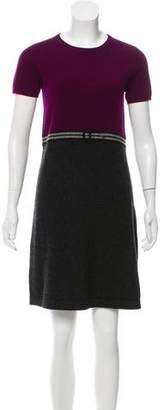 Paule Ka Wool & Cashmere Dress