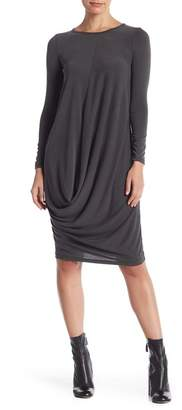Couture Go Bubble Hem Long Sleeve Dress