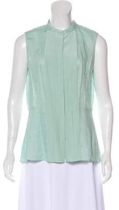 Tory Burch Silk Sleeveless Top