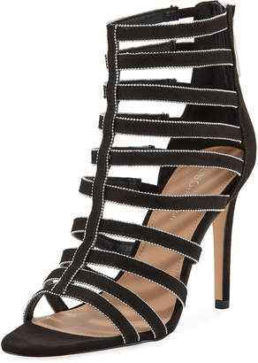 1412c294bba at Last Call by Neiman Marcus · BCBGeneration Jacqueline Caged High-Heel  Sandals