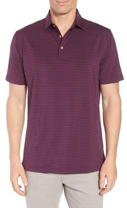 Peter Millar Competition Stripe Stretch Jersey Polo