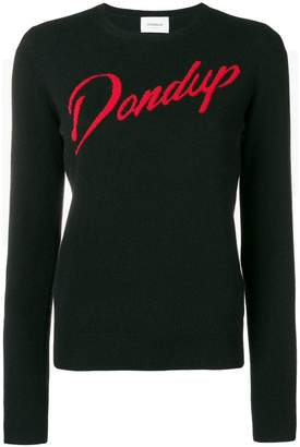 Dondup logo fitted sweater