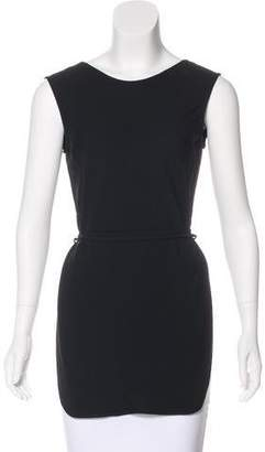 CNC Costume National Belted Sleeveless Tunic