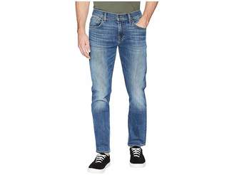 7 For All Mankind The Straight Tapered Straight Leg Luxe Performance in Gaston Men's Jeans