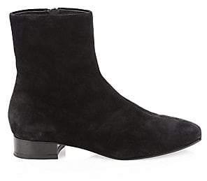 Rag & Bone Women's Aslen Flat Suede Ankle Boots