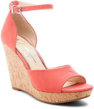 b4b4c6e254fe Jessica Simpson Jarella Platform Wedge Sandal