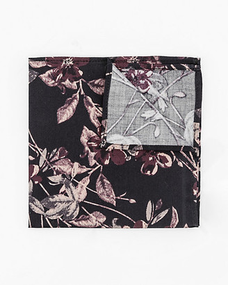 Le Château Floral Cotton Pocket Square
