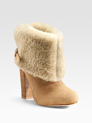 Opening Ceremony Shearling Ankle Boots