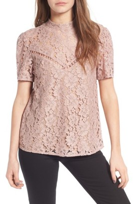 Women's Wayf Greyson Lace Top $75 thestylecure.com